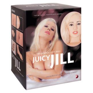 Deze Juicy Jill levensgrote opblaaspop is voorzien van een mooi